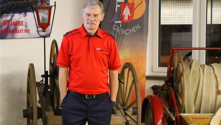 Andreas Sallaz quittiert nach 42 Jahren den Dienst.
