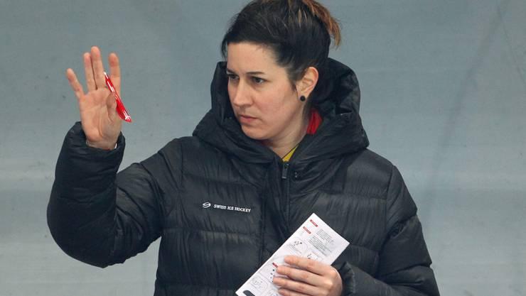 Nationaltrainerin Daniela Diaz muss den Jungen vertrauen