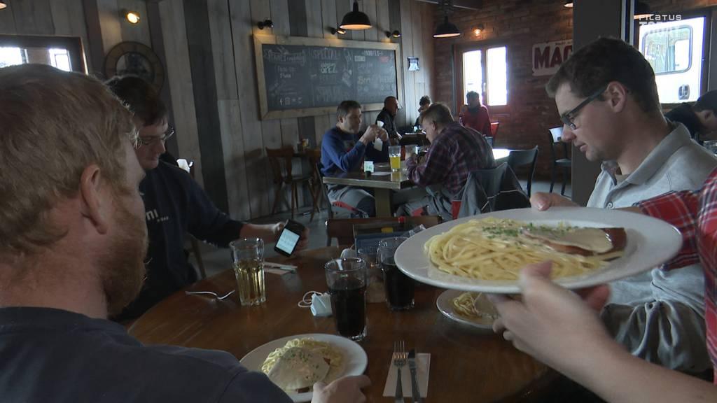 So läuft es in den Restaurants