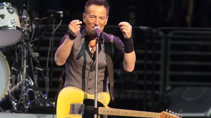 """Bruce """"The Boss"""" Springsteen ist im Anflug: Am 31. Juli gastiert er im Zürcher Hallenstadion. Der Vorverkauf ist eröffnet. (Archivbild)"""
