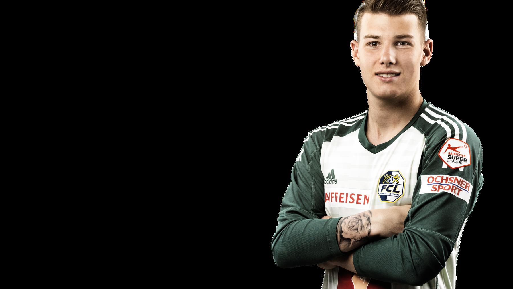 Loïc Jacot verlängert beim FC Luzern bis 2022