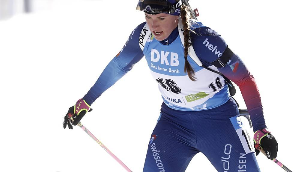 Starler Auftritt in Slowenien: Lena Häcki klassierte sich im WM-Sprint als Siebte