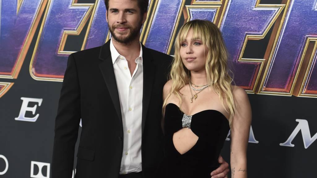 Scheidung von Miley Cyrus und Liam Hemsworth bewilligt
