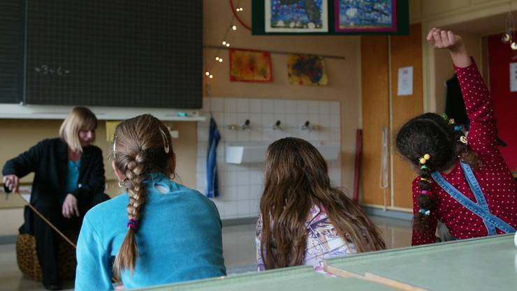 18 Kinder auf eine Klasse an Aargauer Volksschulen