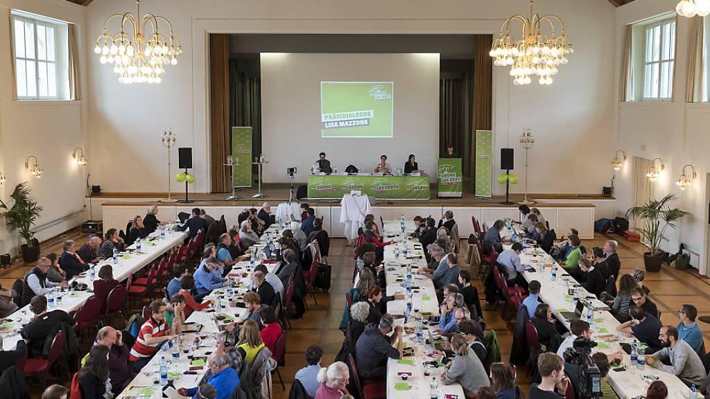 Die Grünen haben an ihrer Delegiertenversammlung am Samstag in Riehen BS einstimmig die «No-Billag»-Initiative abgelehnt.