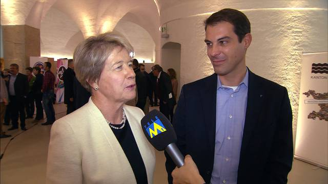 Reaktionen Nationalratswahl Aargau: Die FDP-Abgeordneten Thierry Burkart und Corina Eichenberger im Interview