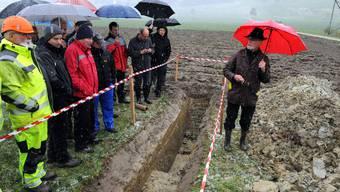Attelwil: 70 Personen nahmen am Anlass über die Zustandserhebung der Entwässerungsanlage in der Suhre-Ebene teil.