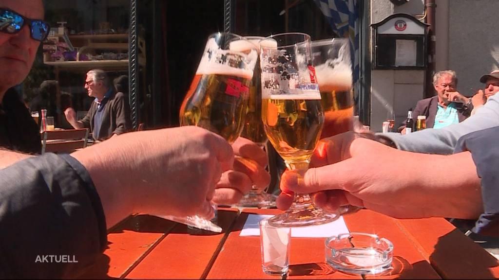 Terrassen-Boom im Aargau: Tausende geniessen die Lockerungen der Beizen und Restaurants