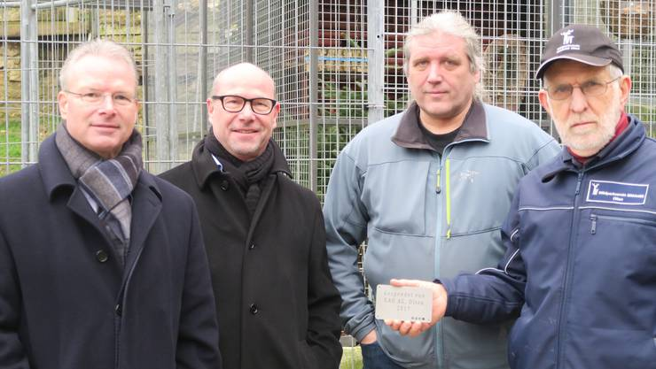 Kurt und Rudolf Loosli, EAO, Francois Baeriswyl, Manfred Segessenmann ,Wildpark
