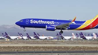 Eine Boeing 737 MAX der US-Gesellschaft Southwest Airlines. (Archivbild)