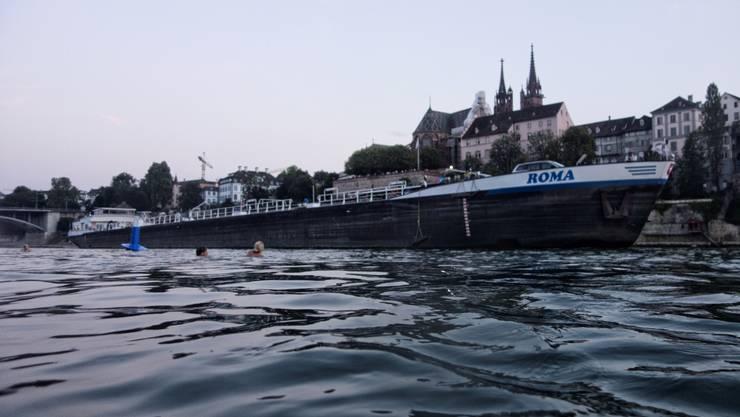 Am Dienstag findet das Rheinschwimmen zum 35. Mal statt.