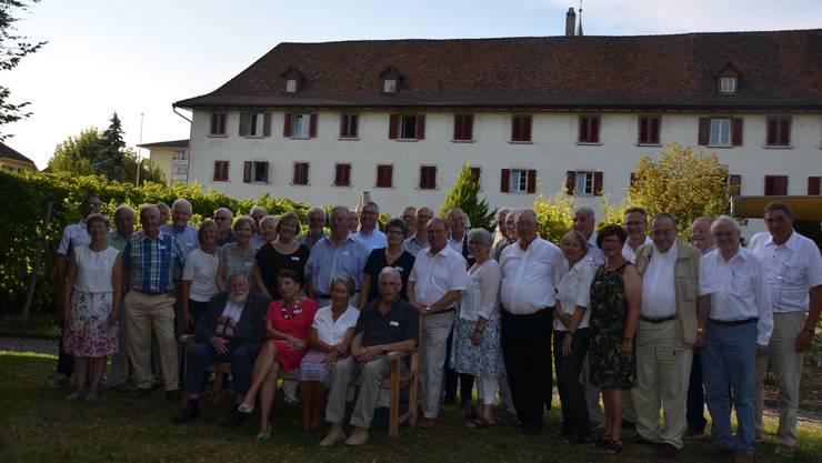 Rund 40 ehemalige Kantonsräte der FDP des Kantons Solothurn trafen sich im Kloster Dornach.