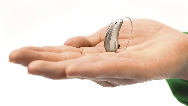Die Hörgeräte aus dem Hause Sonova waren im ersten Halbjahr gefragt. (Archivbild)