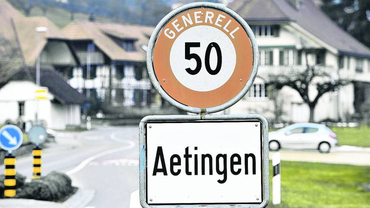 Während der Auflage des Lärmsanierungsprojektes in Aetingen gingen zwei Einsprachen ein.