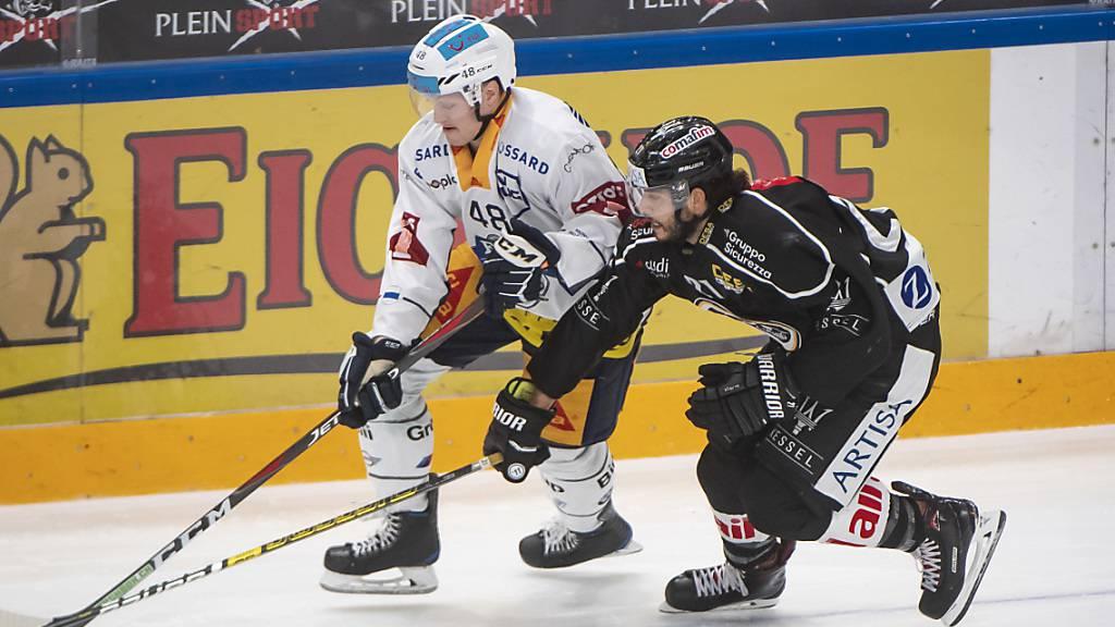 Mauro Jörg (rechts) spielt künftig für Lausanne