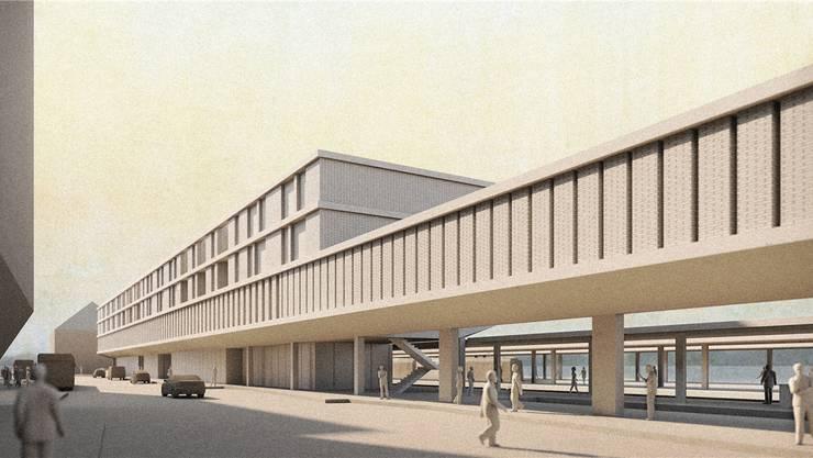 Im April präsentierten SBB und Liestal das Siegerprojekt des Architekturwettbewerbs – allerdings ohne den für den Kanton vorgemerkten Verwaltungsbau.