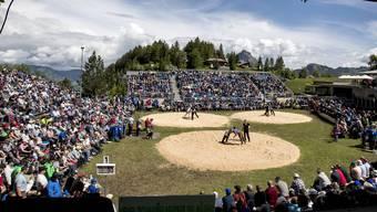 Das Stoos-Schwinget hat jeweils bis zu 3600 Zuschauer. (Archivbild)
