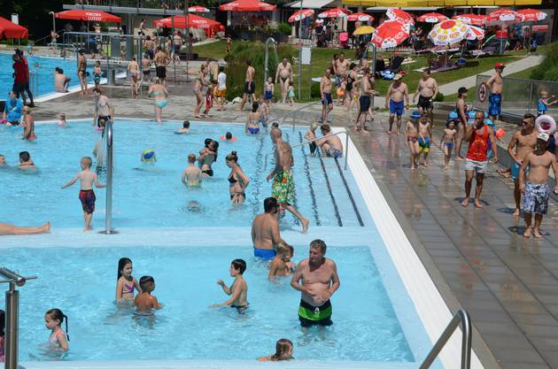 6000Eintritte verkaufte das Schwimmbad in Magden, eines der kleinsten Schwimmbäder der Region. «Für uns ist das sehr viel», sagt Mitarbeiterin Andrea Zürcher und spricht von einer «guten Saison». In anderen Dimensionen rechnen die grossen Schwimmbäder in Rheinfelden, Frick und Möhlin: Dort wurden jeweils rund 60 000 Eintritte verkauft. Über die ganze Region gesehen besuchten über 210 000 Menschen ein Schwimmbad. Von einem Rekordjahr ist allerdings nicht auszugehen. Im Hitzesommer 2003 etwa verzeichnete allein das Schwimmbad Möhlin fast 100 000 Badegäste.