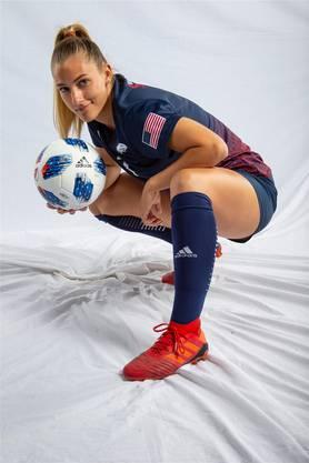 Leandra Flury im Trikot ihrer neuen Mannschaft «Jags» aus South Alabama in den USA.