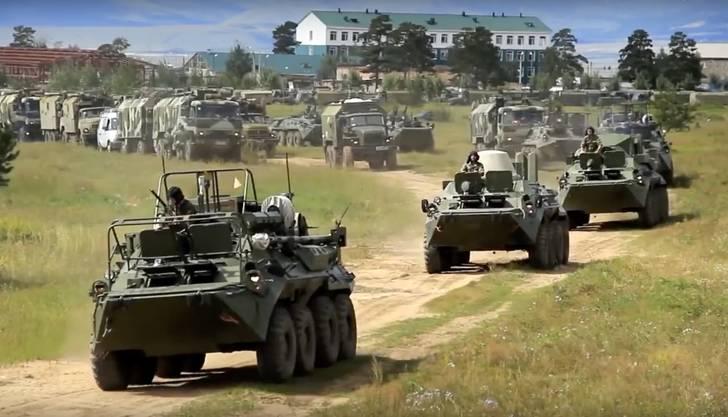 300'000 Soldaten sind im Einsatz: Das russische Militär hält in Sibirien die grösste Militärübung seit der Sowjet-Zeit ab.