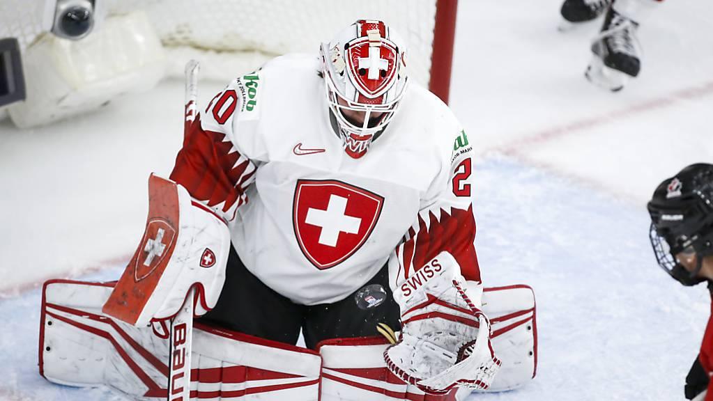 Trotz 61 erfolgreichen Paraden von Andrea Brändli war die Schweiz gegen Kanada erneut chancenlos.