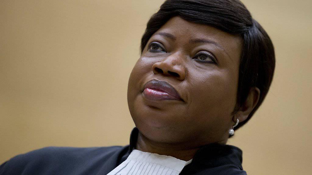 ICC-Chefanklägerin Fatou Bensouda sieht mögliche Kriegsverbrechen der USA in Afghanistan. (Archivbild)