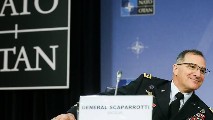 Will sich schon bald mit dem russischen Generalstabschef treffen: Nato-Oberbefehlshaber Curtis Scaparrotti.
