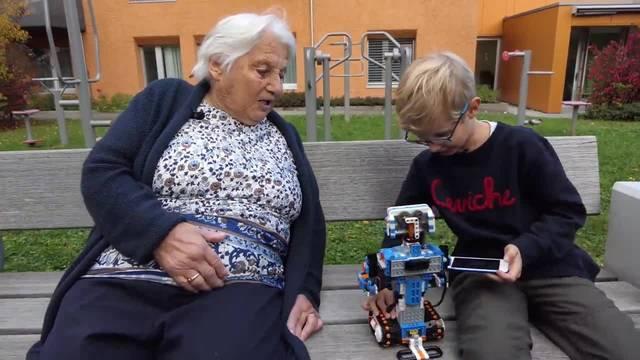 82 Jahre Unterschied: Generationenaustausch mit Erika und Lionel