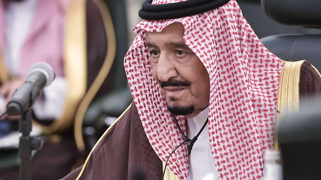 Bundespräsident Maurer besucht König Salman in Saudi-Arabien