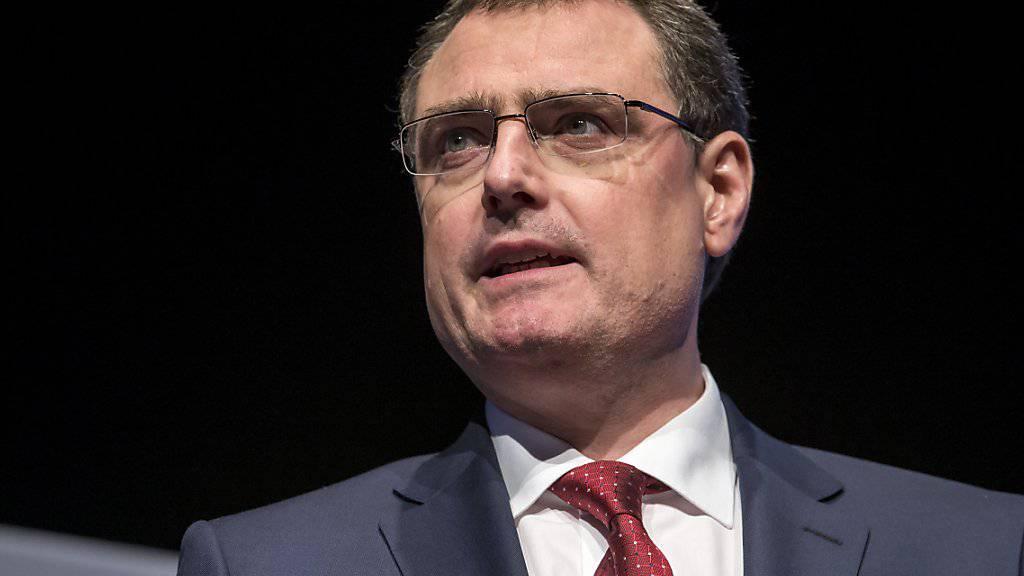 """""""Aus meiner Sicht ist es aber noch zu früh, von einer eigentlichen Trendwende zu sprechen"""", sagte SNB-Direktor Thomas Jordan zu steigenden Zinsen. (Archivbild)"""