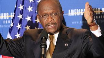Herman Cain will gegen Präsident Barack Obama antreten (Archiv)