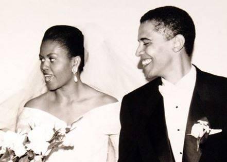Darf in der Timeline nicht fehlen: Ein Bild von der Hochzeit mit Michelle.