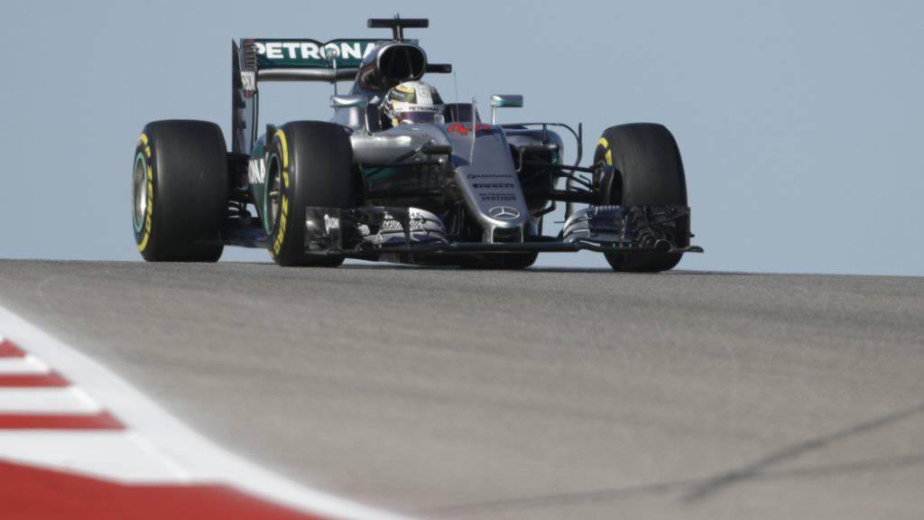 Lewis Hamilton eroberte in Austin den besten Startplatz