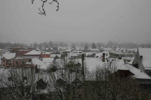 Weisse Pracht in Aarau