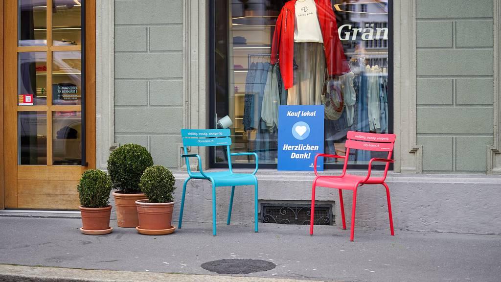 Solidarität für Lokales: Luzerner Geschäfte bedanken sich