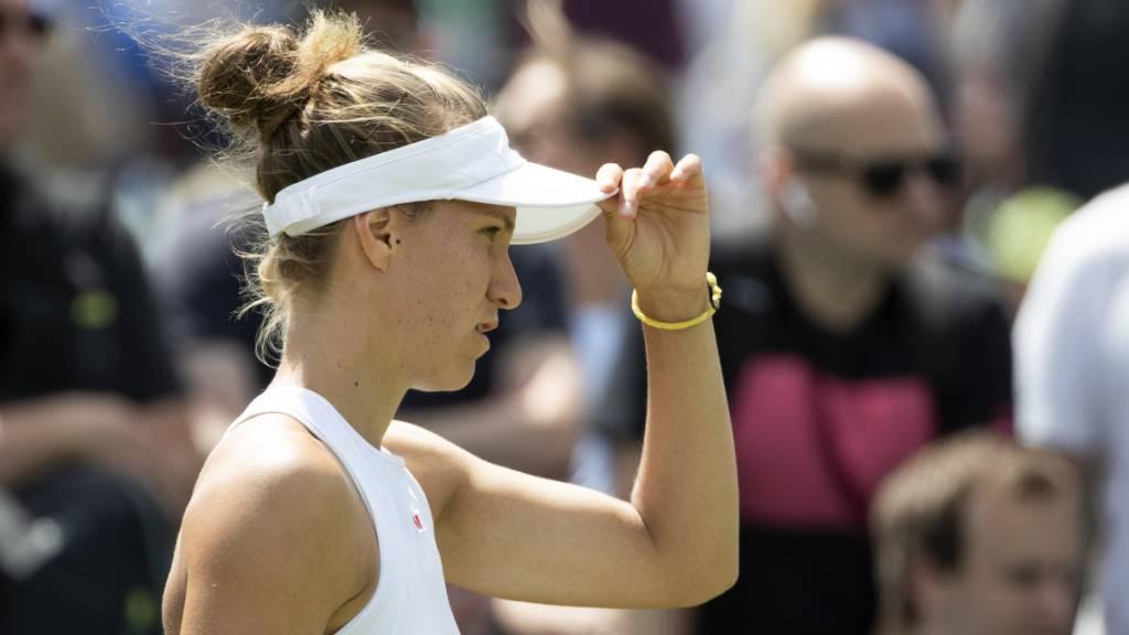 Viktorija Golubic scheitert in den Halbfinals