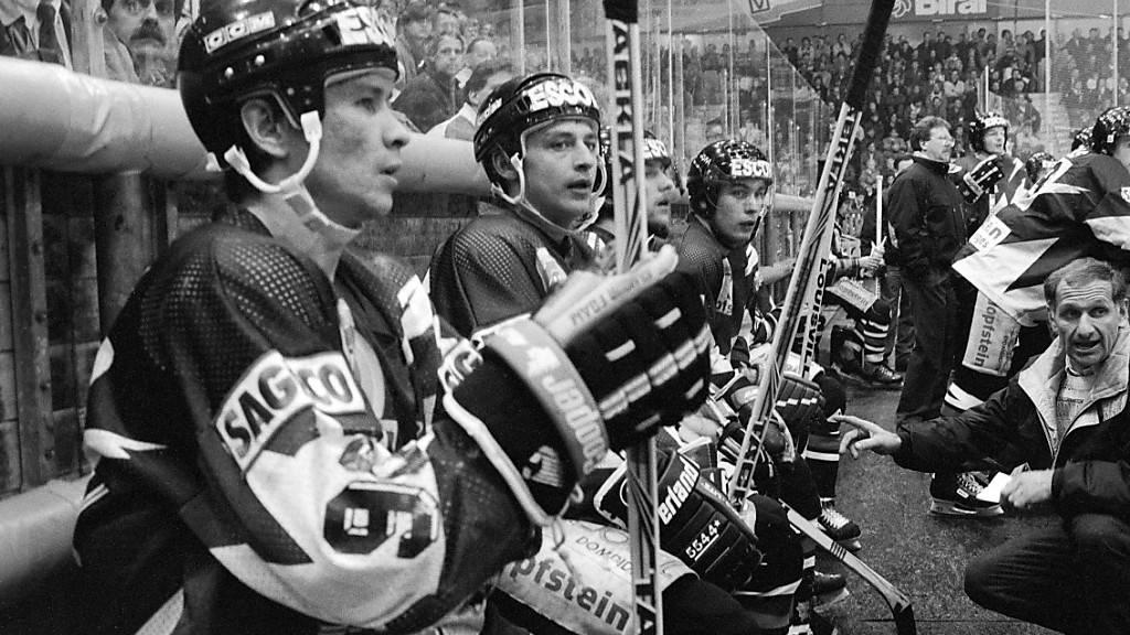 Fribourg-Gottéron verliert von 1992 bis 1994 drei Playoff-Finals