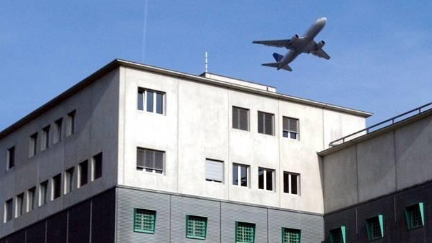 Gefängnis am Flughafen Zürich, wo auch die Ausschaffungshaft ist. (Archiv)