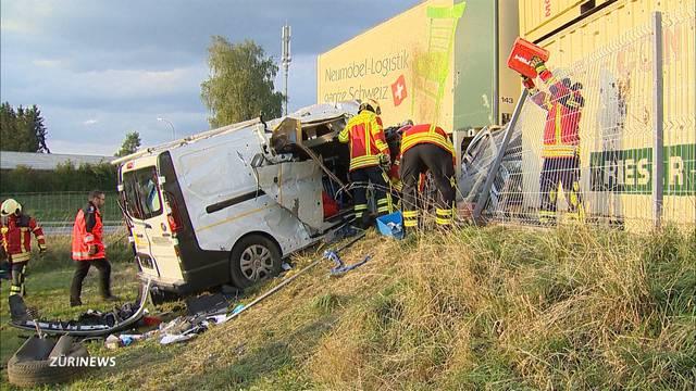 Schwerer Unfall in Frauenfeld