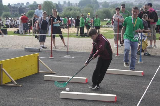 Unihockeyparcours