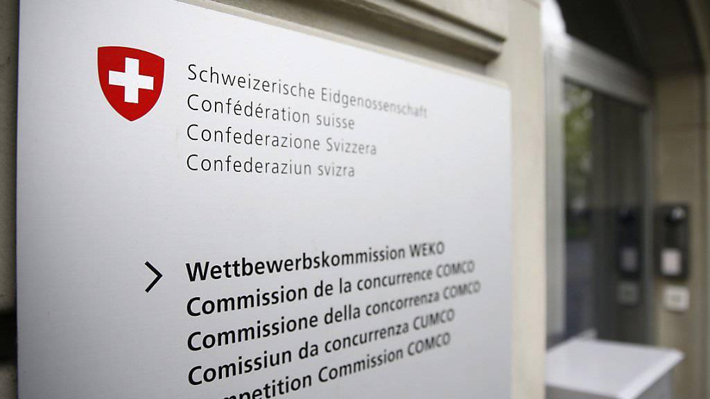Die Weko büsst eine Tochter von Galenica mit 4,5 Millionen Franken. Das Urteil wird an das Bundesverwaltungsgericht weitergezogen. (Archiv)