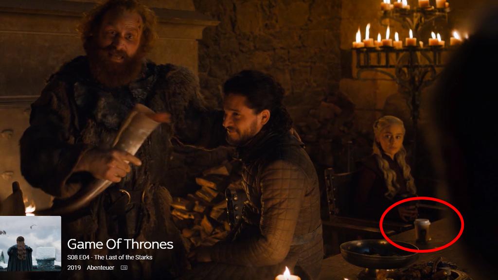 Auch bei Hochglanz-Produktionen wie Game of Thrones passieren Fehler.