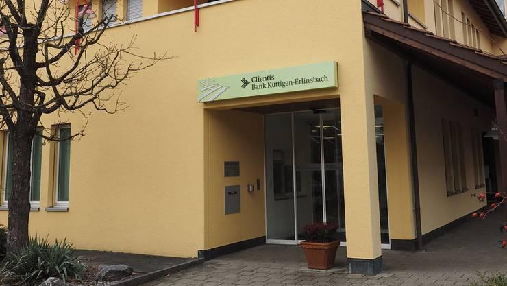 Die Clientis-Bank Küttigen-Erlinsbach – hier die «Speuzer» Geschäftsstelle –wird im Spätsommer umbenannt.