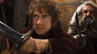 """""""The Hobbit"""" behauptet sich an der Spitze der Kinocharts (Archiv)"""
