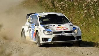 Sébastien Ogier Sieger der Rallye Finnland.