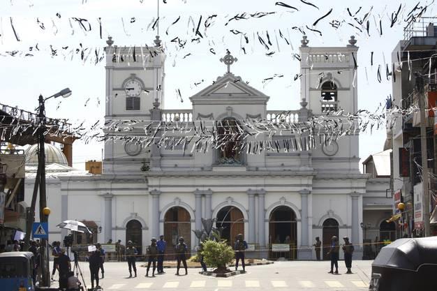 Die St.-Antonius-Kirche in Colombo, der Hauptstadt von Sri Lanka.