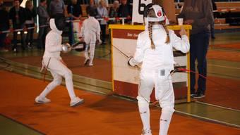 Marie-Jo Brancato (links) und Alina Altermatt kämpften gegeneinander. Müg