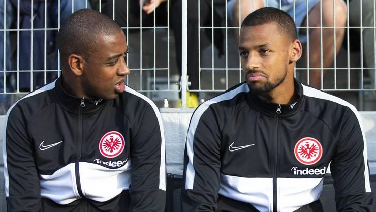 Von YB zu Frankfurt: Dijbril Sow (rechts) mit seinem Schweizer Teamkollegen Gelson Fernandes.