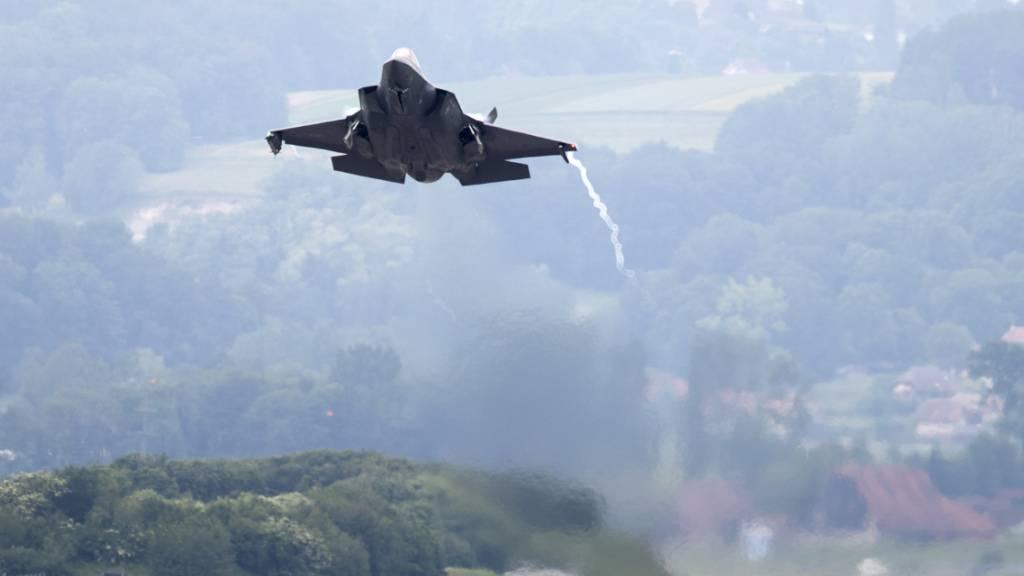 Bundesrat beschliesst Beschaffung von 36 US-Kampfjets des Typs F-35