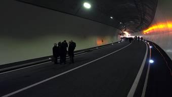 Tag des offenen Tunnels Hausmatt in Olten